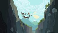 Birds flying away S2E07