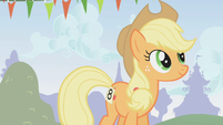 Applejack at the competition S1E13