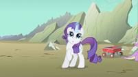 Rarity cute expression S1E19