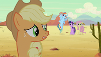 Applejack not upset S2E14