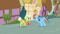 Rainbow Dash & Granny Smith S2E8