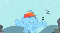 Rainbow whistling during flight S2E7