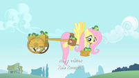 Fluttershy with frogs S1E15