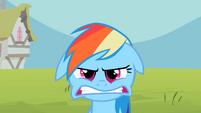 Rainbow Dash grr angry S2E8