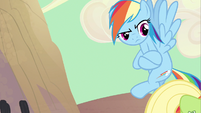 Rainbow Dash yeah right S2E14