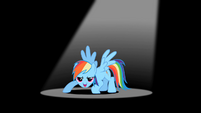 Rainbow Dash 'with coolness' S2E07