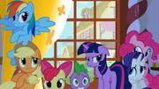 Twilight's friends hide from Zecora's gaze S1E09.png