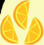 오렌지 세 조각