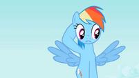 Rainbow Dash Confused S2E07