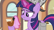 Twilight cleaning pipe's mouthpiece S2E24.png