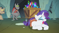 Rarity crying S1E19