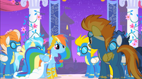 Spitfire asks Rainbow to Hang out S1E26