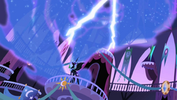 Nightmare Moon cackles as lightning flashes S1E01.png