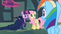 Twilight and Fluttershy Revealing MDW S2E08