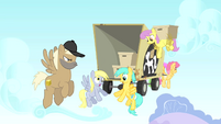 The Pegasi movers' truck S1E15