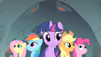 Rainbow Dash wondering where S1E19