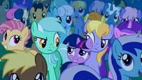 Filly Twilight and Lyra Heartstrings clone S1E23
