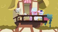 Old Ponies On Balcony S2E08