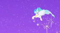 At the Gala Princess Celestia appears S01E26