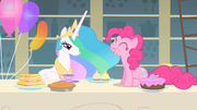 Pinkie Pie munching on a cupcake S1E22.png