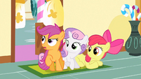 """Scootaloo """"need to try zip-lining again"""" S1E23"""