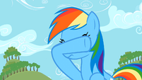 Rainbow Dash not surprised S2E15