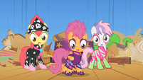 CMC why they laughing S1E18