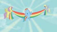 Rainbow Dash wins Iron Pony competition S1E13