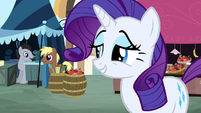 """Rarity """"Well of course you can."""" S2E19"""