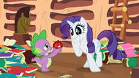 Rarity see fire ruby S2E10