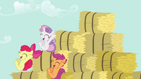 CMC bouncing down from bales S2E17