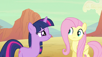 Twilight saying name S2E14