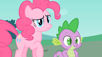 Pinkie Pie is confused S1E26