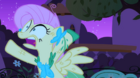 Fluttershy falling into her own trap S1E26