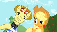 Uncertain Applejack and Flim 3 S02E15