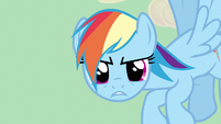 Rainbow Dash spill the beans S2E14