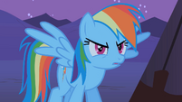 "Rainbow Dash ""YOU!!!"" S01E21"