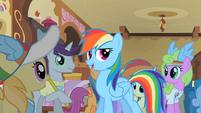 Rainbow Dash 'Spike here writes down everything' S2E08