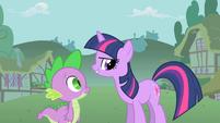 Twilight 'Pinkie is not weird' S1E15