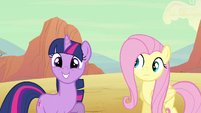 Fluttershy wondering something S2E14