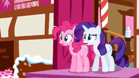 Rarity & Pinkie Pie see trouble S2E19
