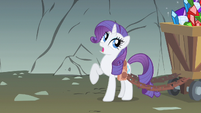 Rarity she starts S1E19