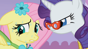 Rarity pressures Fluttershy S1E14.png