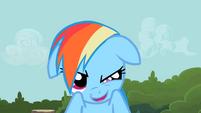 Rainbow Dash that leg is S2E8