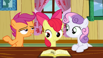 Scootaloo in a second S2E17