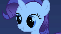Rarity happy with the costumes S01E23