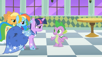 Spike asks about the night S1E26