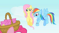 """Rainbow Dash """"We'd really better get going"""" S1E25"""