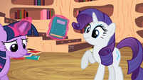 Rarity book surprise S2E10