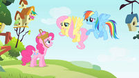 Rainbow Dash and Fluttershy have to housesit S1E25